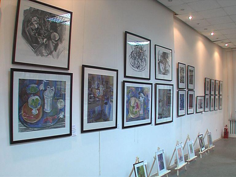 В выставочном зале открылась персональная выставка Леонида Малафеевского