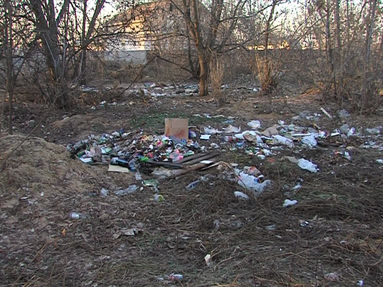 Жильцы дома по улице Яковлевской жалуются на кучи неубранного мусора