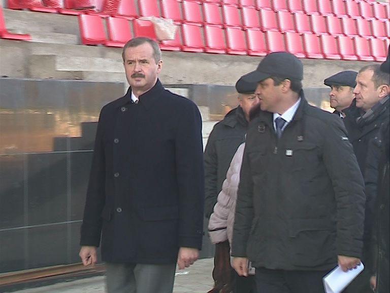 Александр Князьков проинспектировал строительство соцобъектов в Ростове