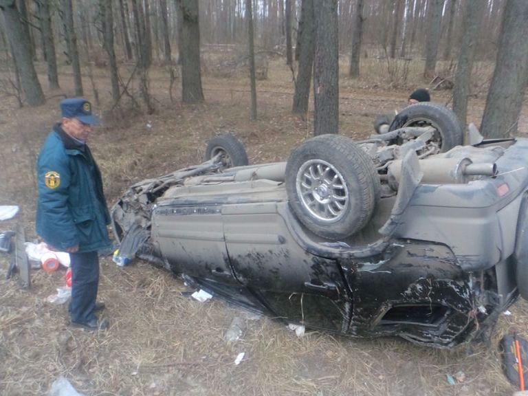 На трассе М-8 столкнулись «Хонда» и МАЗ