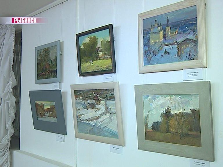 В Рыбинске открылась выставка художника Владимира Палкина