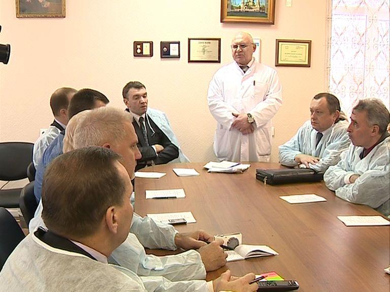 Соловьевская больница на день послужила депутатам Думы залом для заседаний