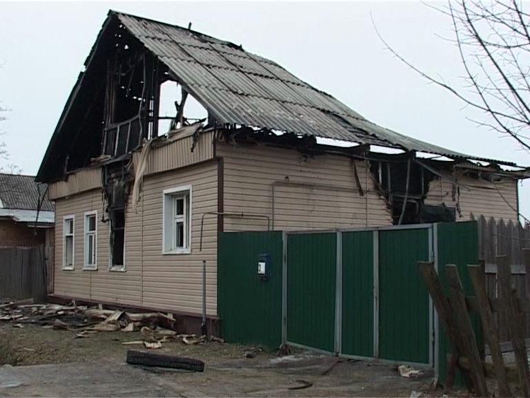 В Данилове в огне погиб мужчина
