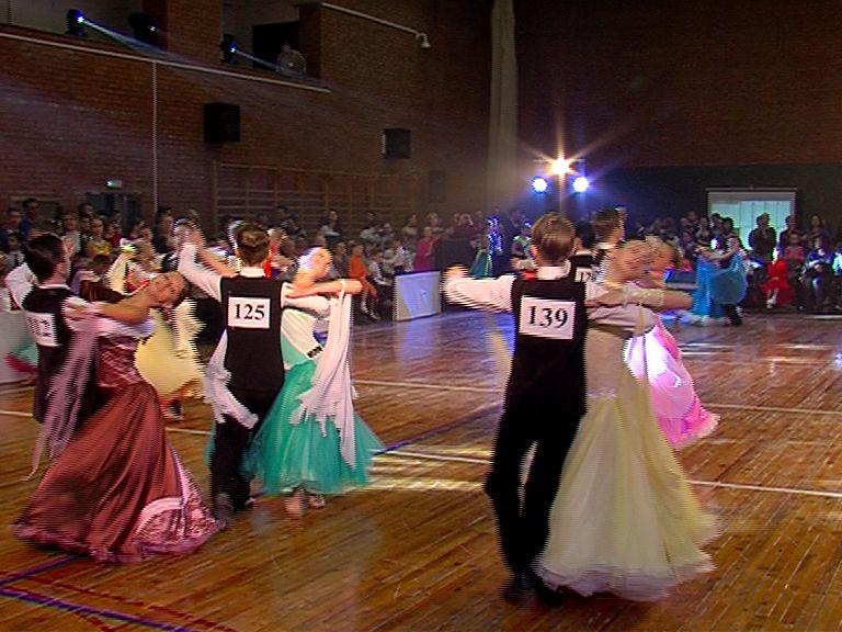 В Ярославле прошел открытый чемпионат и первенство города по танцевальному спорту