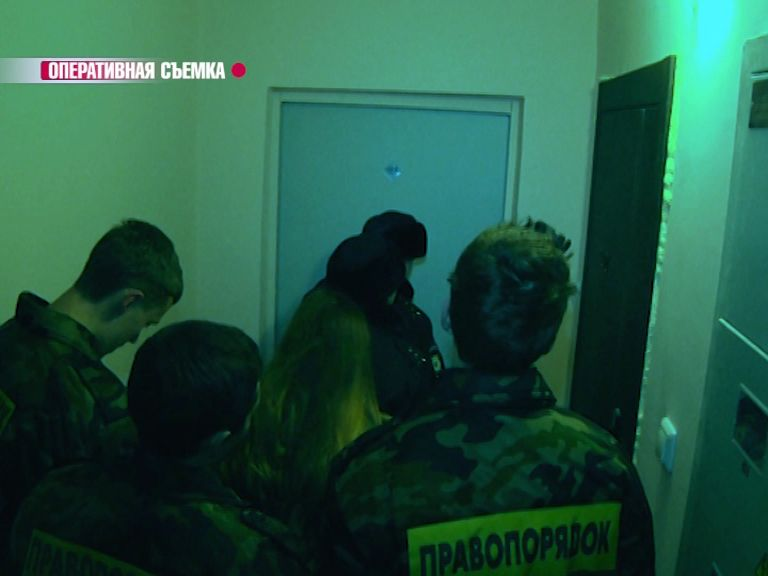 Ярославские полицейские провели рейд вместе с молодежным отрядом «Правопорядок»