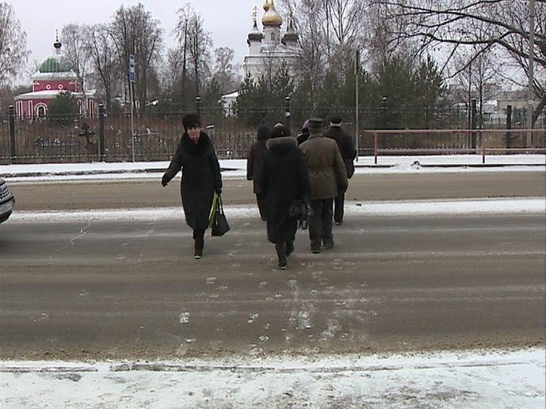 Жители Рыбинска борются за установку светофора на опасной дороге