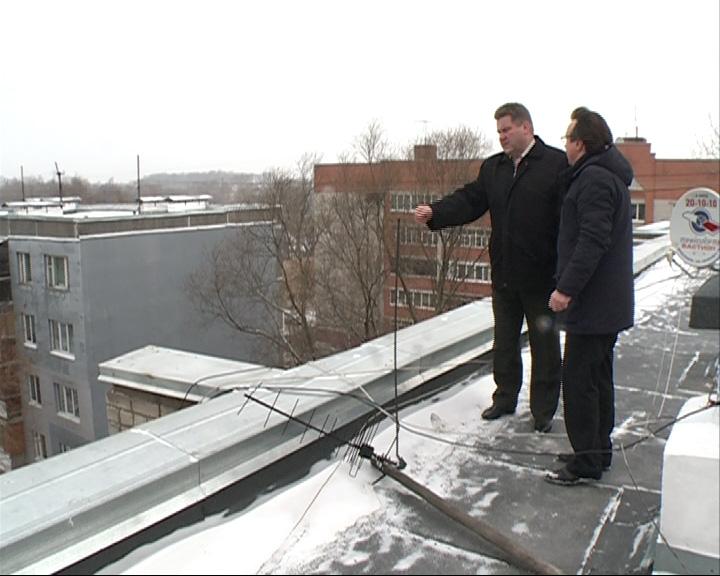 Во Фрунзенском районе по программе капитального ремонта отремонтировали крышу жилого дома