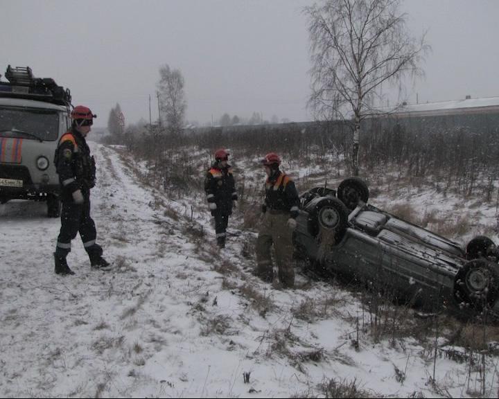 В Ярославской районе столкнулись «Вольво» и «Жигули»
