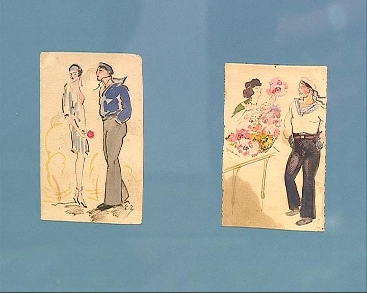 В Митрополичьих палатах выставили рисунки Степана Чахотина