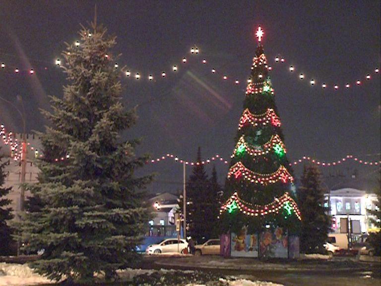 Стала известна программа новогодних гуляний в Ярославле