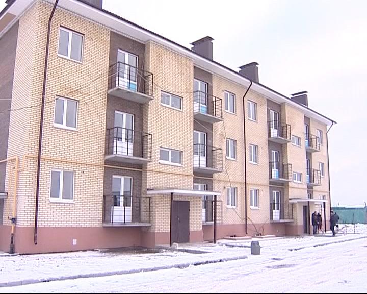 В Новом Некоузе заканчивается строительство многоквартирного дома