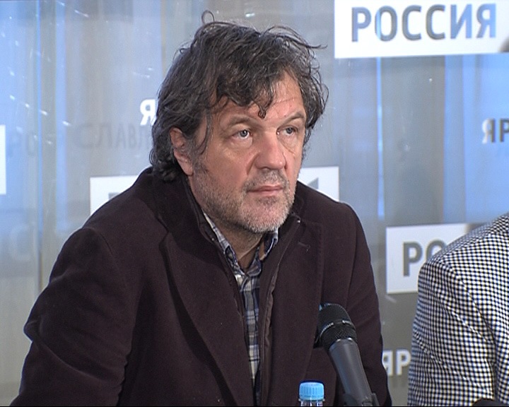 Эмир Кустурица дал благотворительный концерт на ярославской сцен