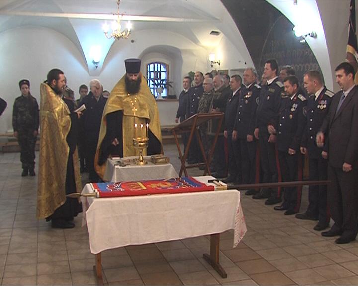 У казаков Ярославской области появилось свое знамя