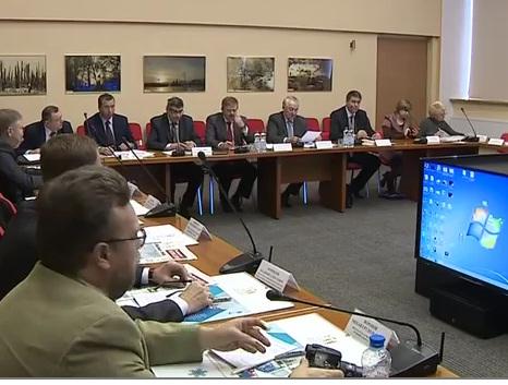 В Рыбинске состоялось выездном заседании совета муниципальных образований при Ярославской областной Думе
