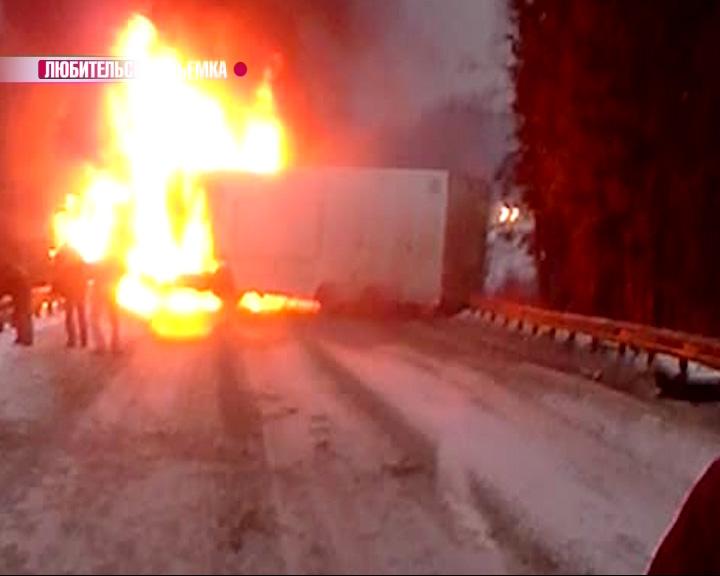 В Переславском районе, на границе с Владимирской областью, столкнулись три автомобиля