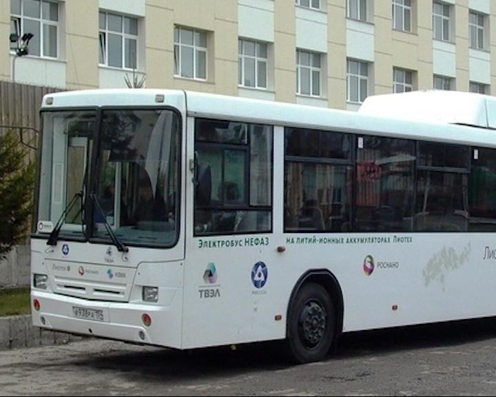 В среду в Ярославль привезут электробус