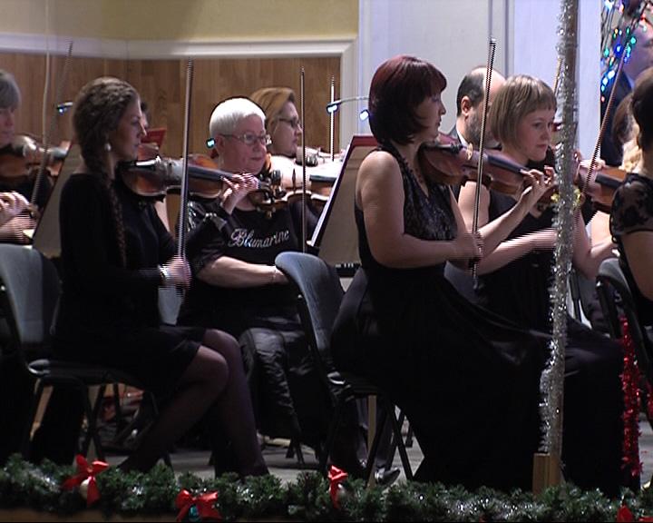 Ярославский академический губернаторский симфонический оркестр дал новогодний концерт