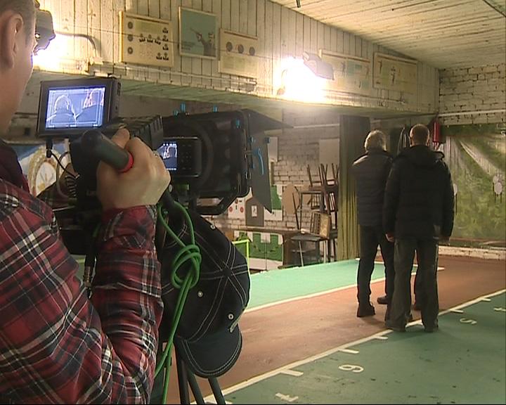 Ярославский тир стал одной из съемочных площадок для нового телесериала
