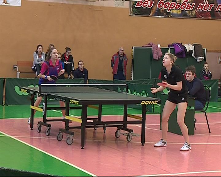 Мужская сборная Ярославской области по настольному теннису выиграла чемпионат ЦФО