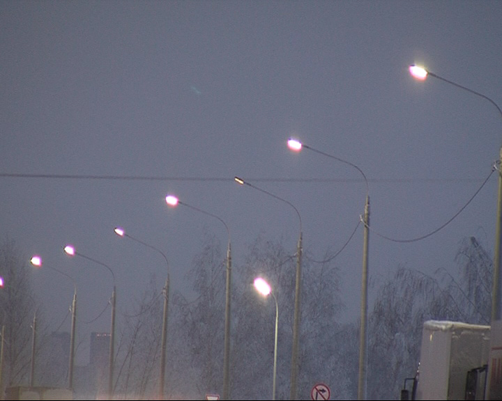 На ярославской окружной дороге появилось освещение