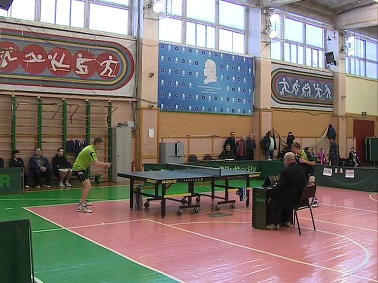 В Ярославле завершилось первенство ЦФО по настольному теннису