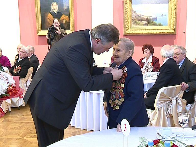 В ярославском художественном музее чествовали ветеранов Великой Отечественной Войны