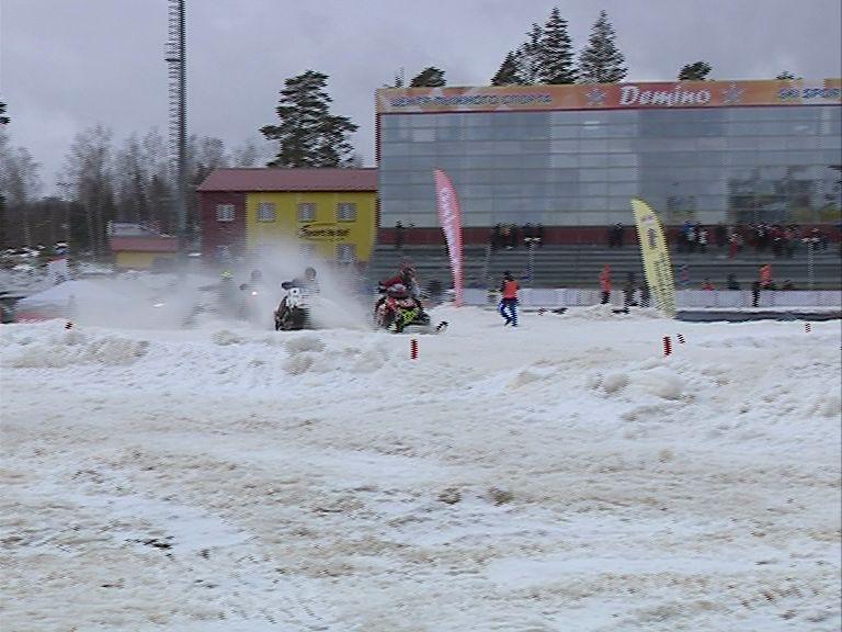 В «Демино» определился новый чемпион Европы по кроссу на снегоходах