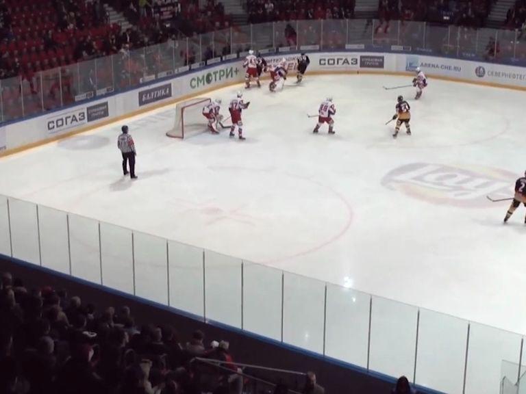 «Локо» с поражения стартовал в четвертьфинальной серии розыгрыша Кубка Харламова