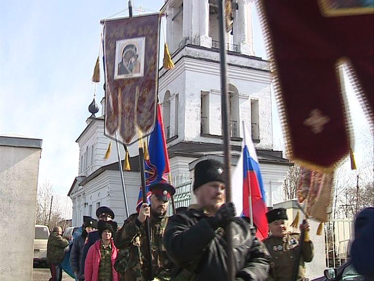 Казаки в Григорьевском отметили годовщину победы народного ополчения над польско-литовскими войсками