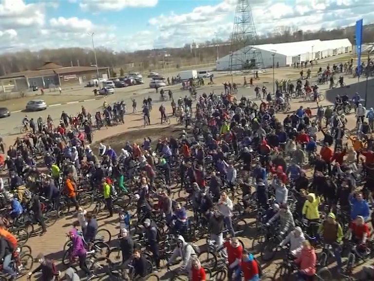 В Ярославле открылся велосезон