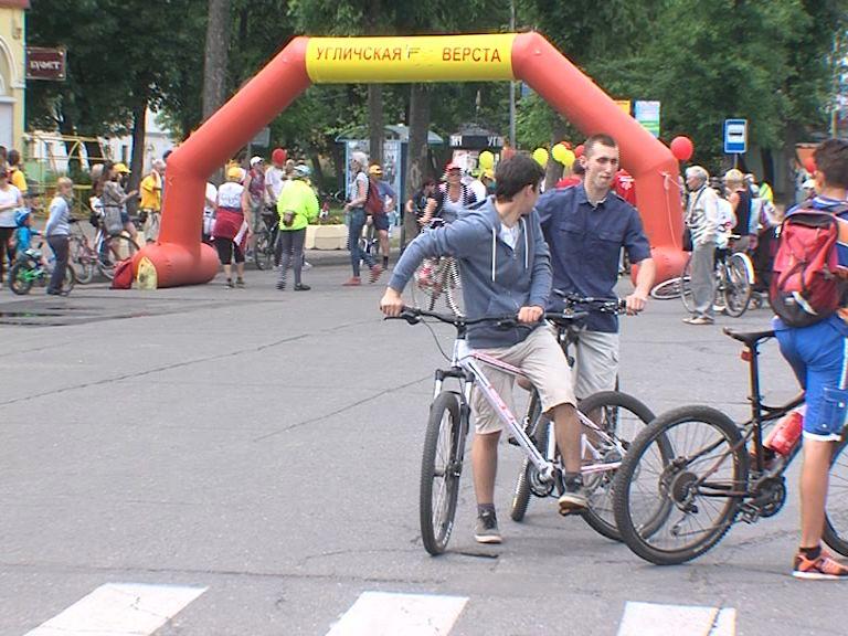 На «Угличской версте» показали самый быстрый велосипед