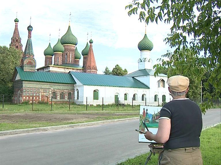 В Ярославле прошел масштабный пленэр художников