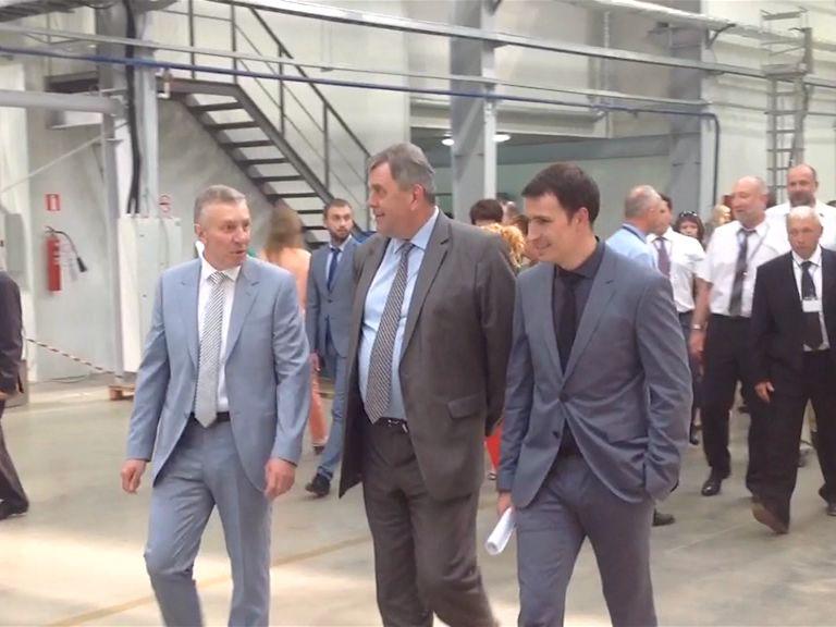 Сергей Ястребов принял участие в церемонии открытия Угличского завода точного машиностроения