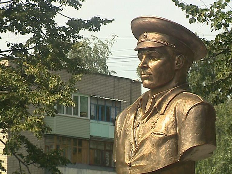 В Ярославле открыли памятник Василию Маргелову
