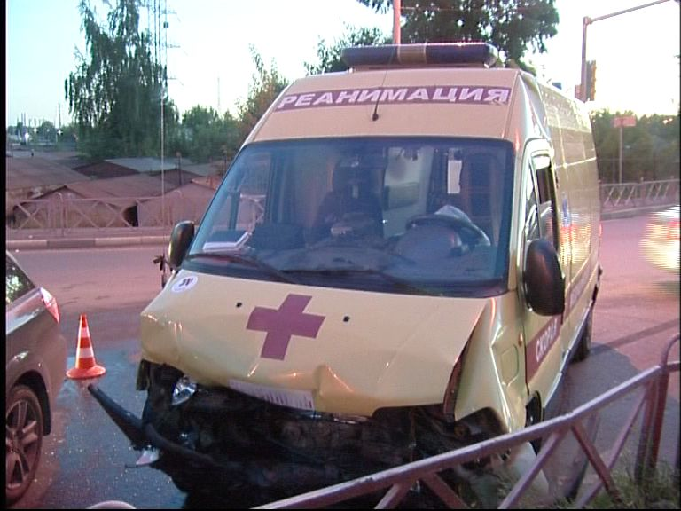 В Ярославле в аварию угодила «скорая»