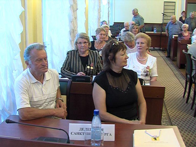 В Ярославле побывала делегация ветеранов из Санкт-Петербурга