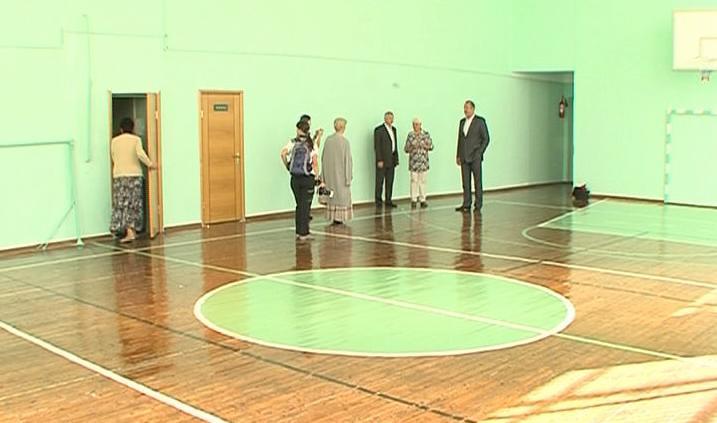 В школе №36 Ярославля отремонтировали спортзал