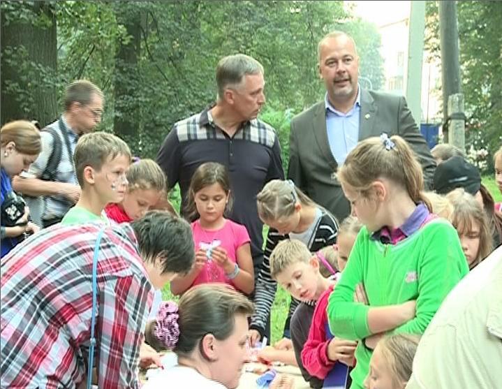 В Ярославле жители нескольких дворов устроили праздник добрососедства