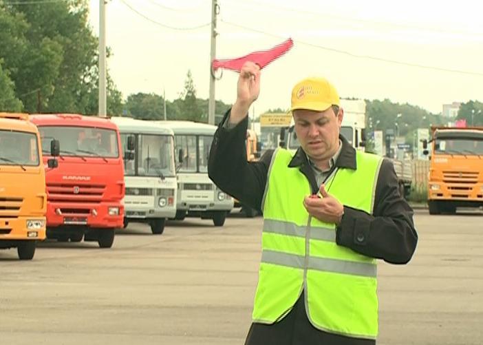В Ярославской области выбирали лучших водителей автобусов
