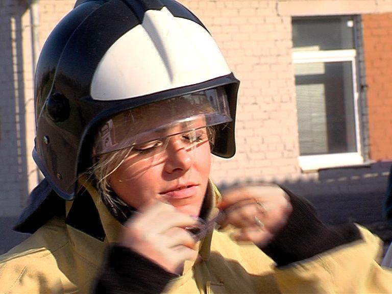 Журналисты выявили сильнейшего в пожарном ремесле