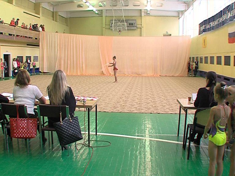 В Ярославле стартовало областное первенство по художественной гимнастике