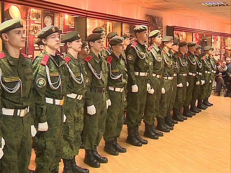 Воспитанники Ярославского кадетского колледжа принесли присягу