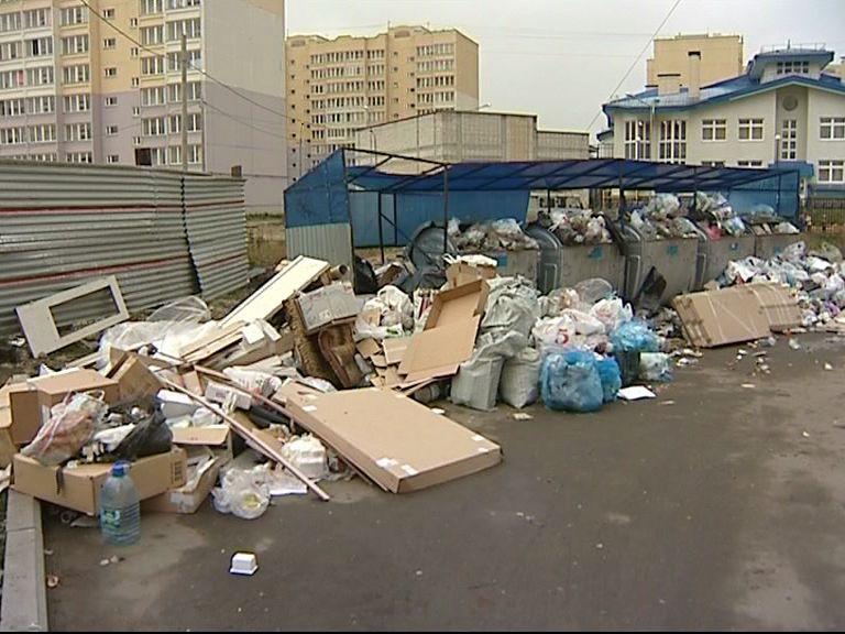 Мусорные контейнеры уберут от дорог