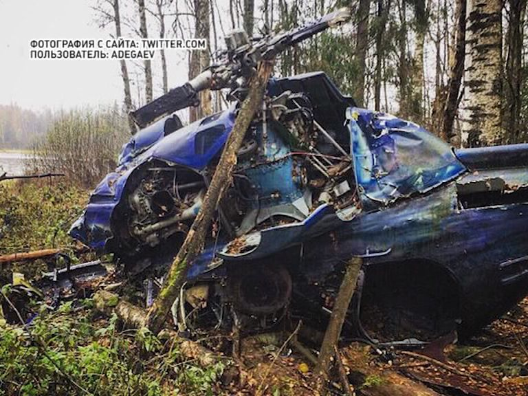 Ярославец в лесу нашел вертолет