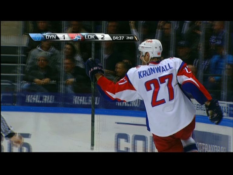 Две шайбы капитана «Локомотива» вошли в десятку лучших голов игровой недели КХЛ