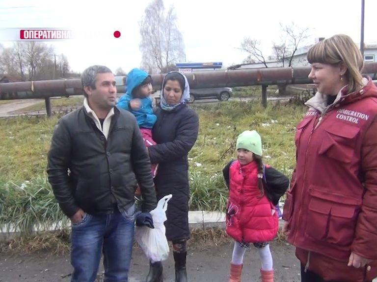 Сотрудники УФМС задержали многодетную семью из Таджикистана