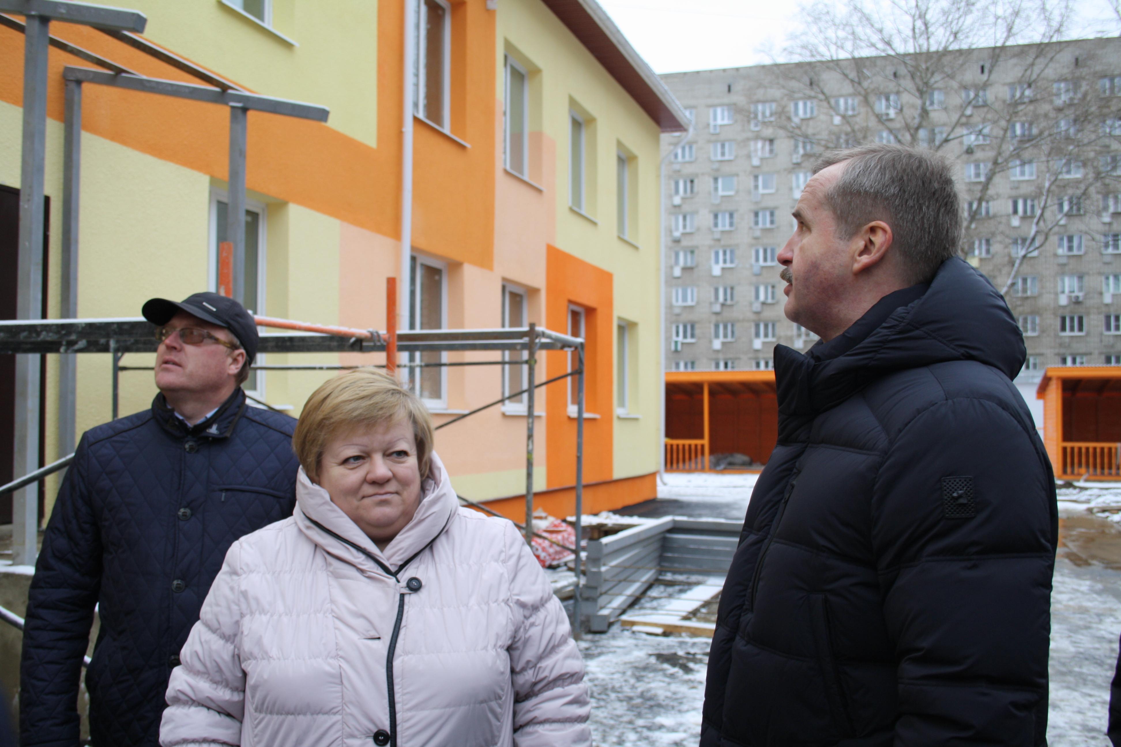 Александр Князьков поверил строительство детсадов в Ярославской области