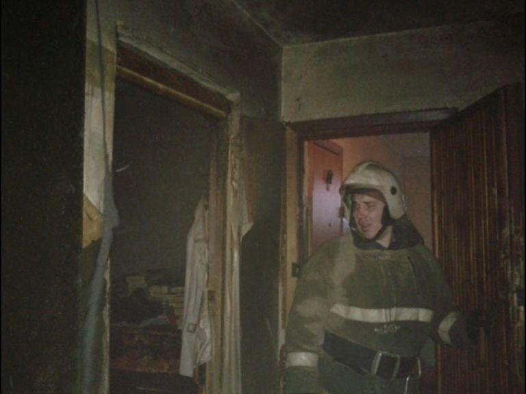 Пожар в Рыбинске унес жизнь пожилой женщины