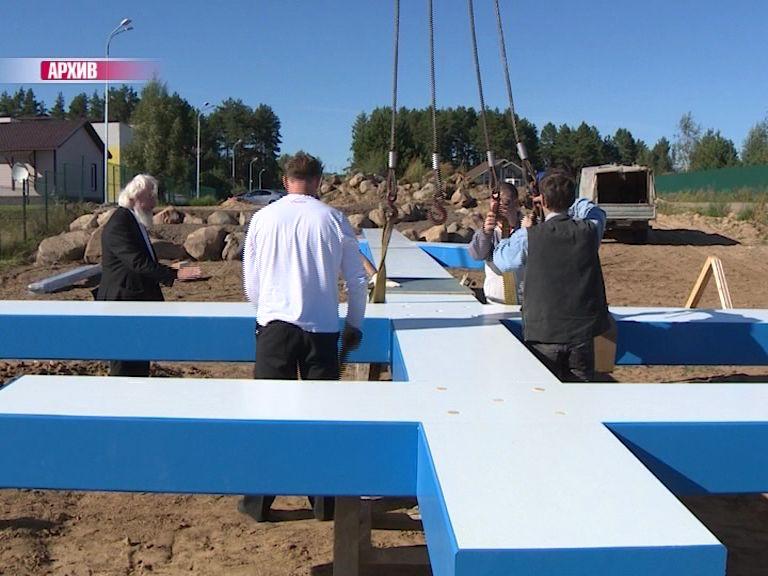 Крест в селе Спас оказался самым большим в России