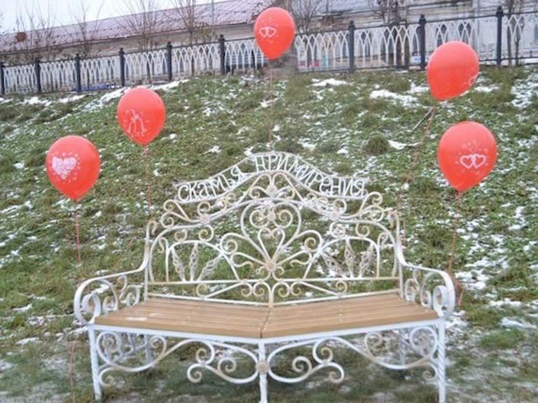 Скамья примирения появилась в Рыбинске